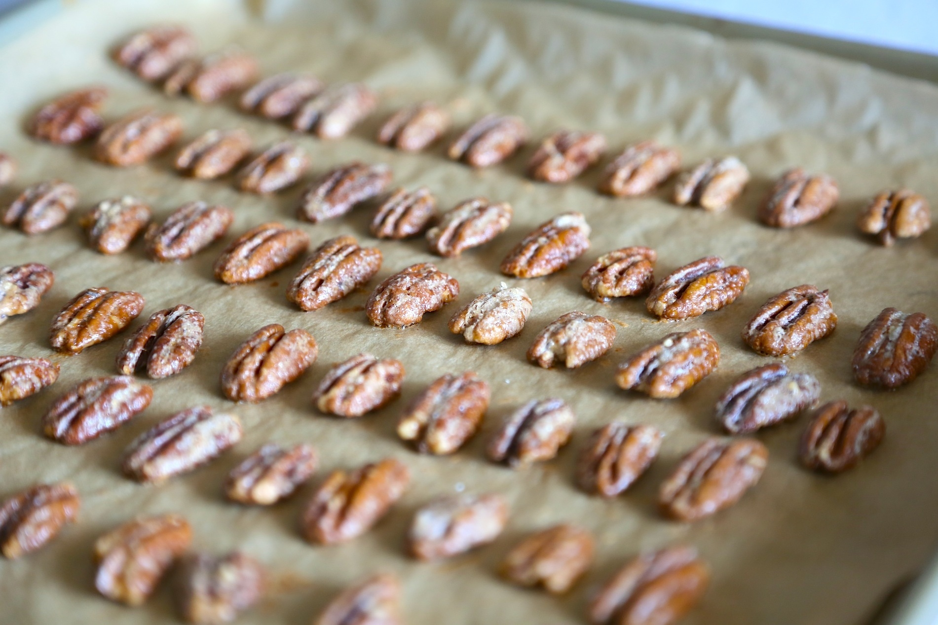 Candied Walnuts and Pecans