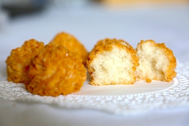 Easy Gluten Free Coconut Lime Macaroons