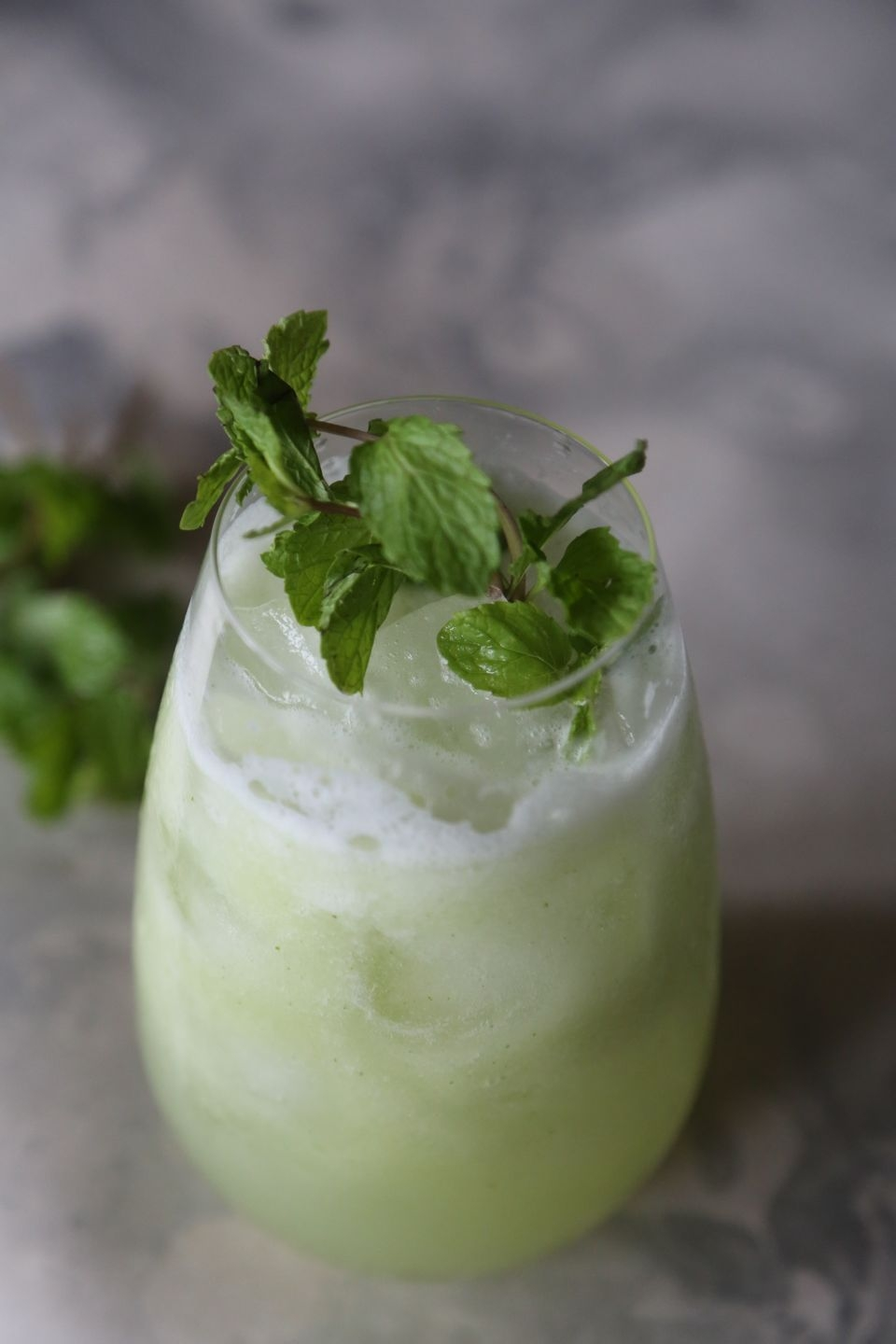 ICED CUCUMBER MINT TONIC