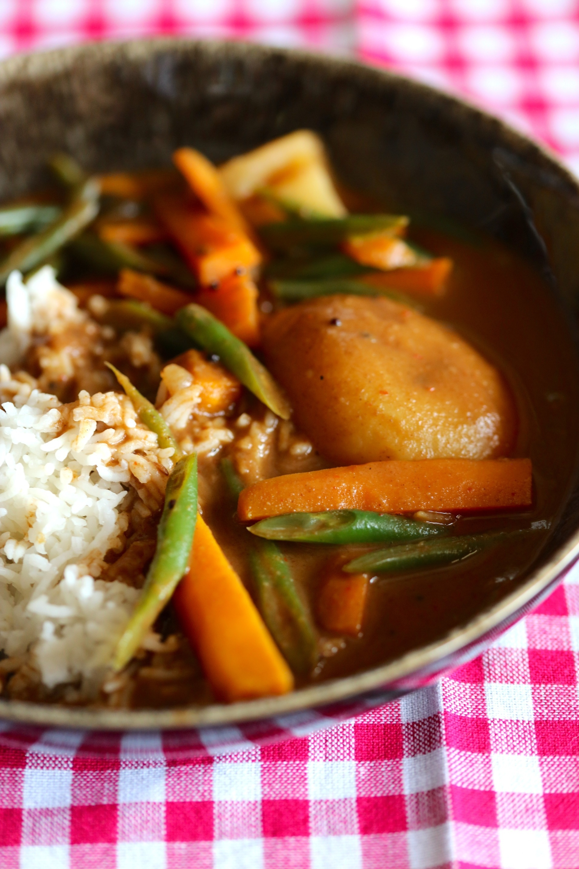 SINDHI KADI- CHICK PEA FLOUR CURRY WITH VEGETABLES
