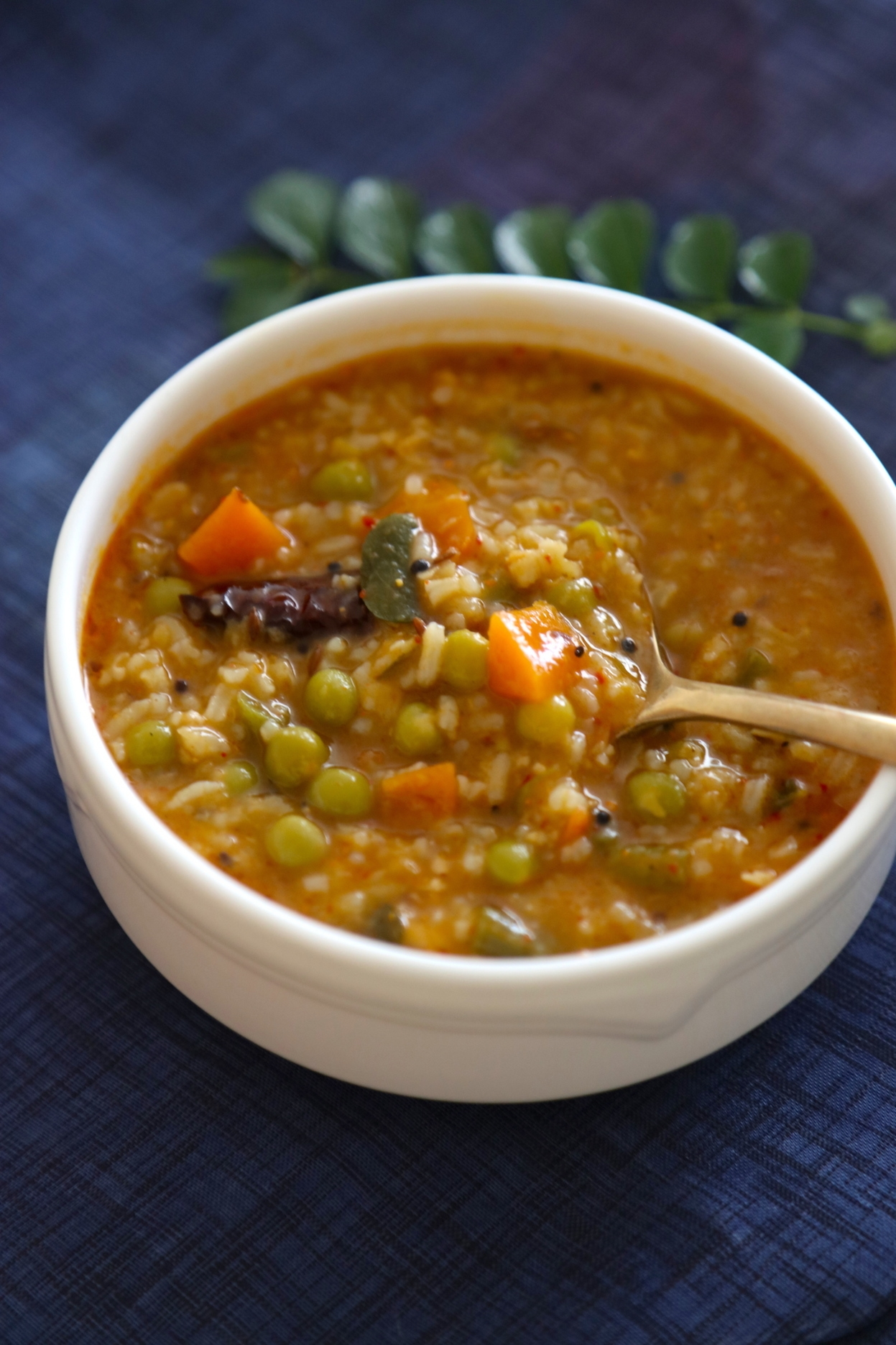 BISE BELE BATH: HOT TANGY RICE AND LENTIL STEW