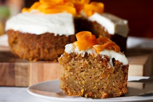 Classic Carrot Cake with Orange