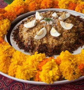 Maratha style Chicken pulao