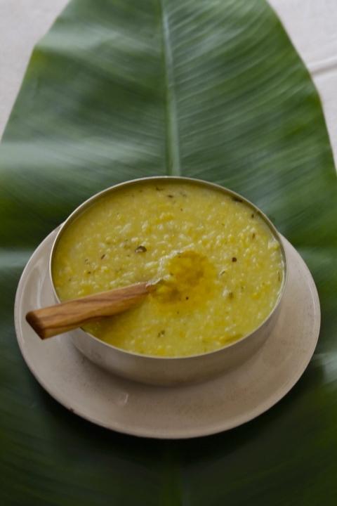 Khitchdi Rice and Lentil Porridge
