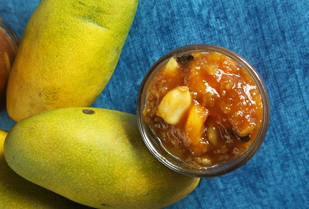 Mango and Garlic Relish: A Pickle with a story