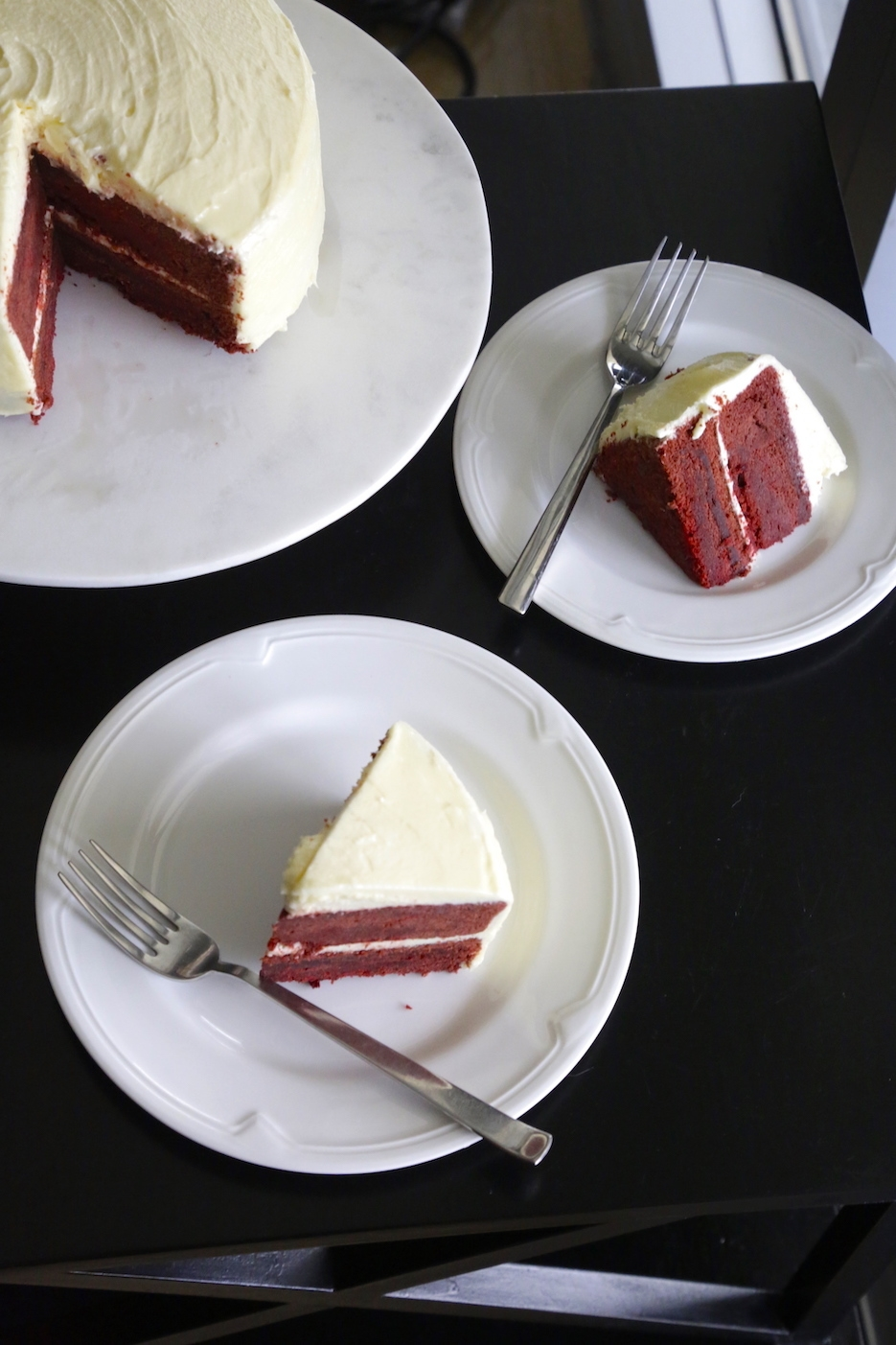 OLD FASHIONED COOKED WHITE FROSTING FOR RED VELVET CAKE