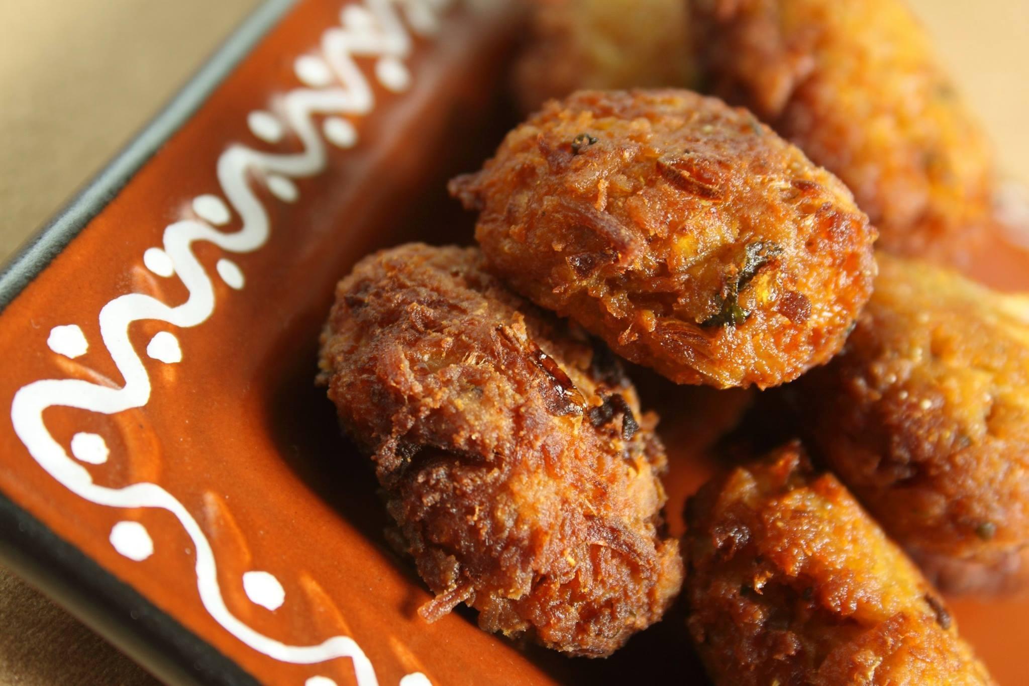 Karwar style Clam Croquettes
