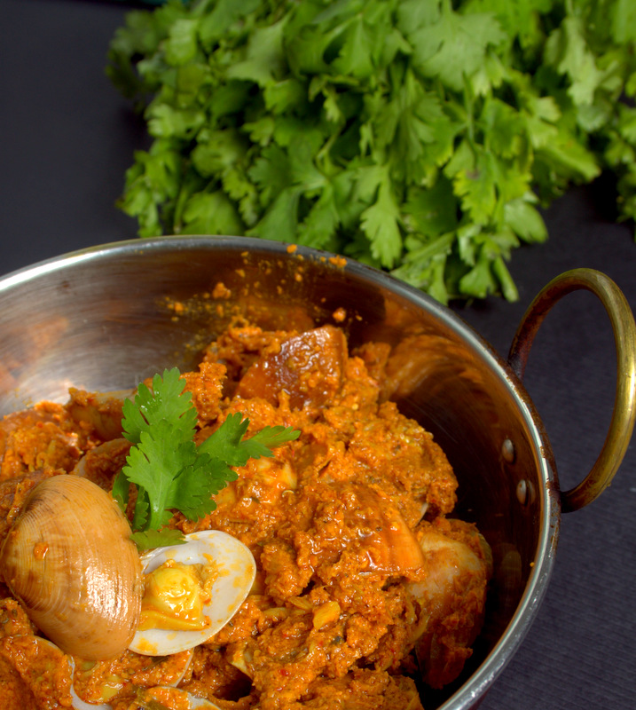 Tisri Sukke – Dry Curried Clams