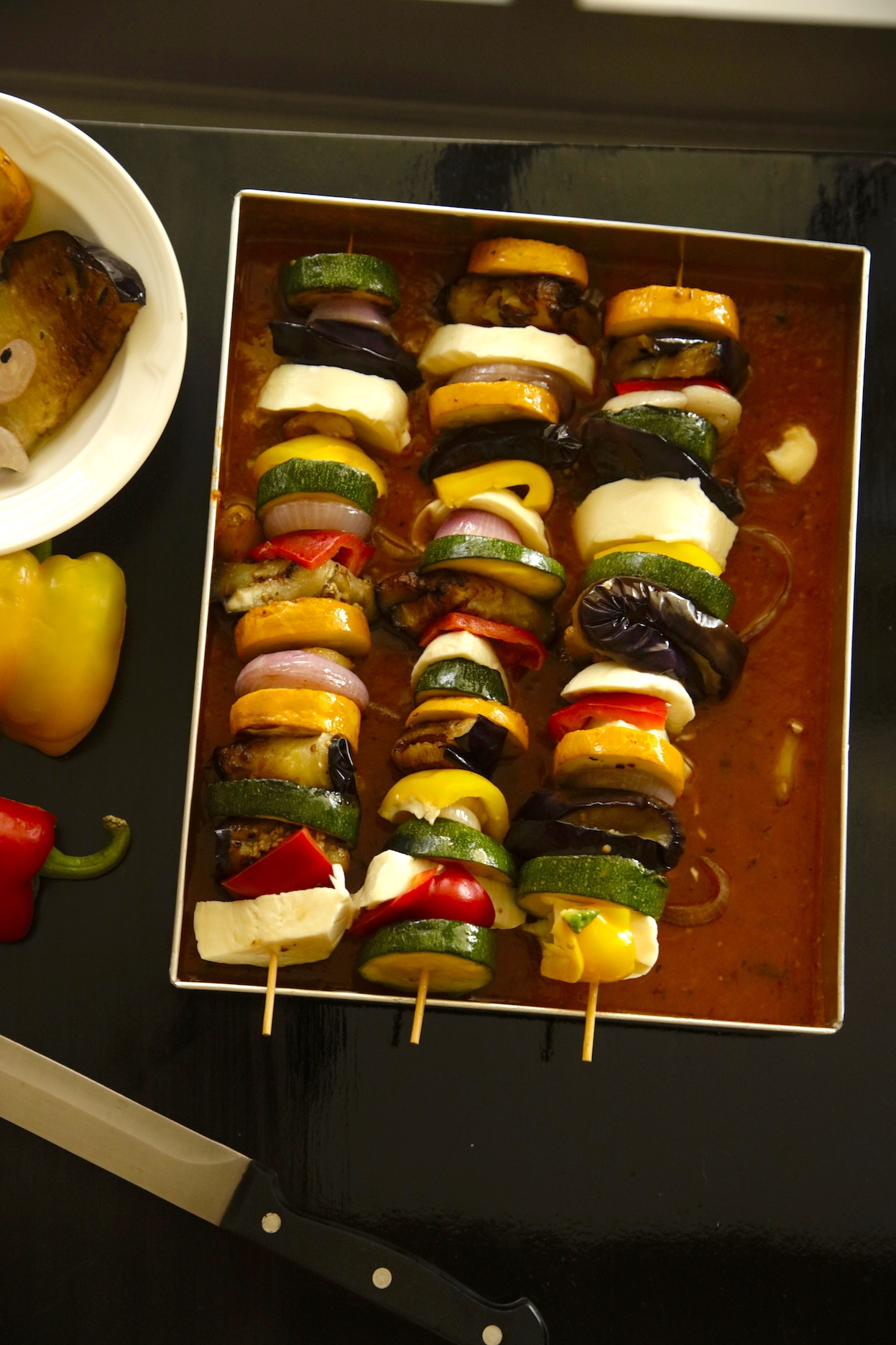 SKEWERED VEGETABLE TIAN